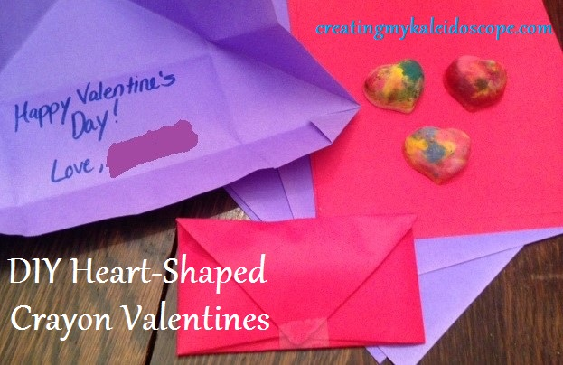 A Frugal Valentine's Day: DIY Heart-Shaped Crayons ...