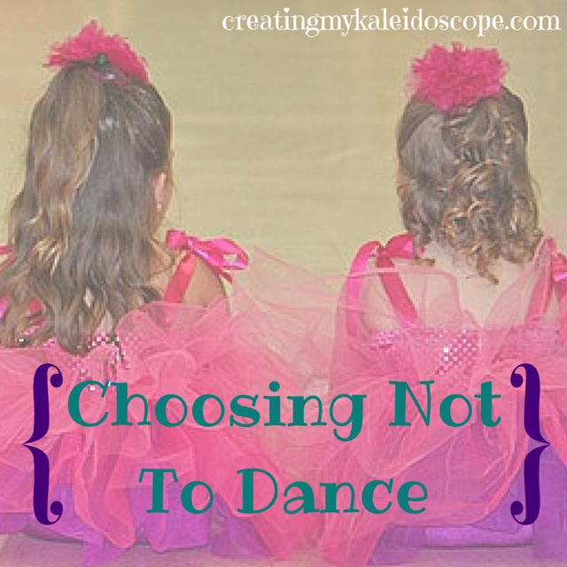 choosingnottodance