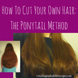 How To Cut Your Own Hair: The Ponytail Method