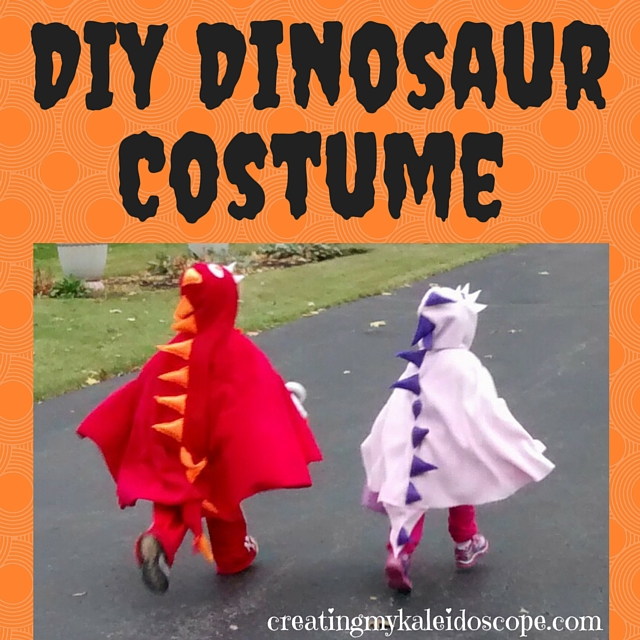 Our Frugal Halloween: DIY Dinosaur Costume