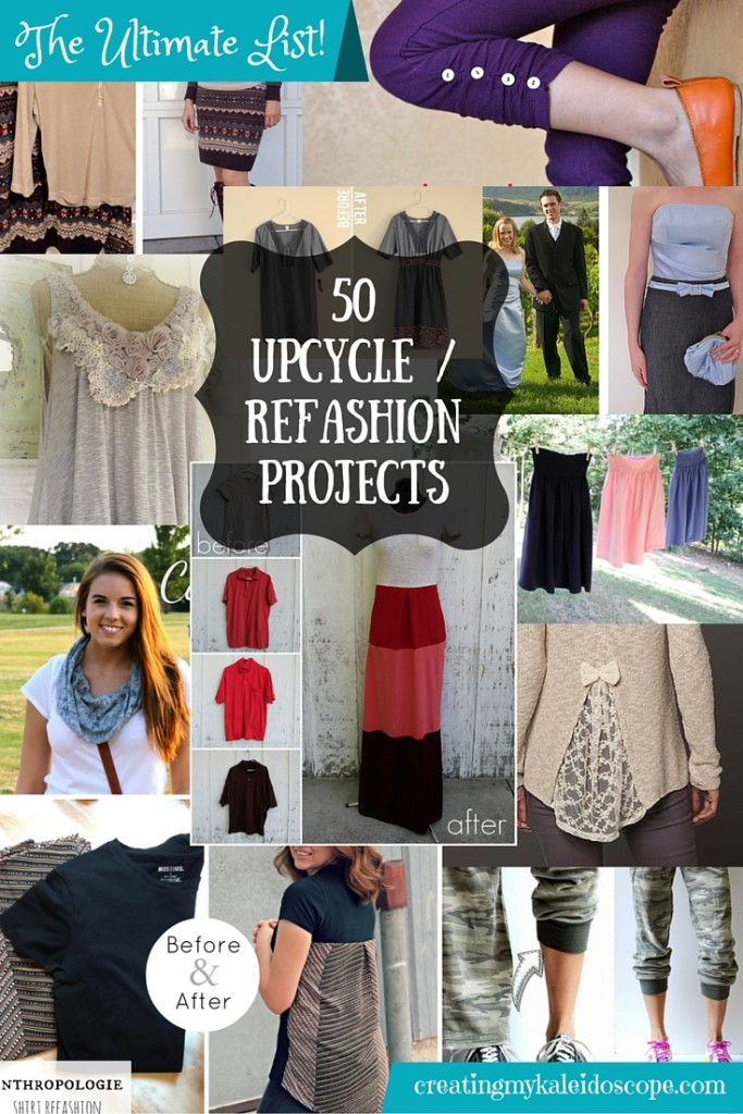 50 Upcylce _ Refashion Project