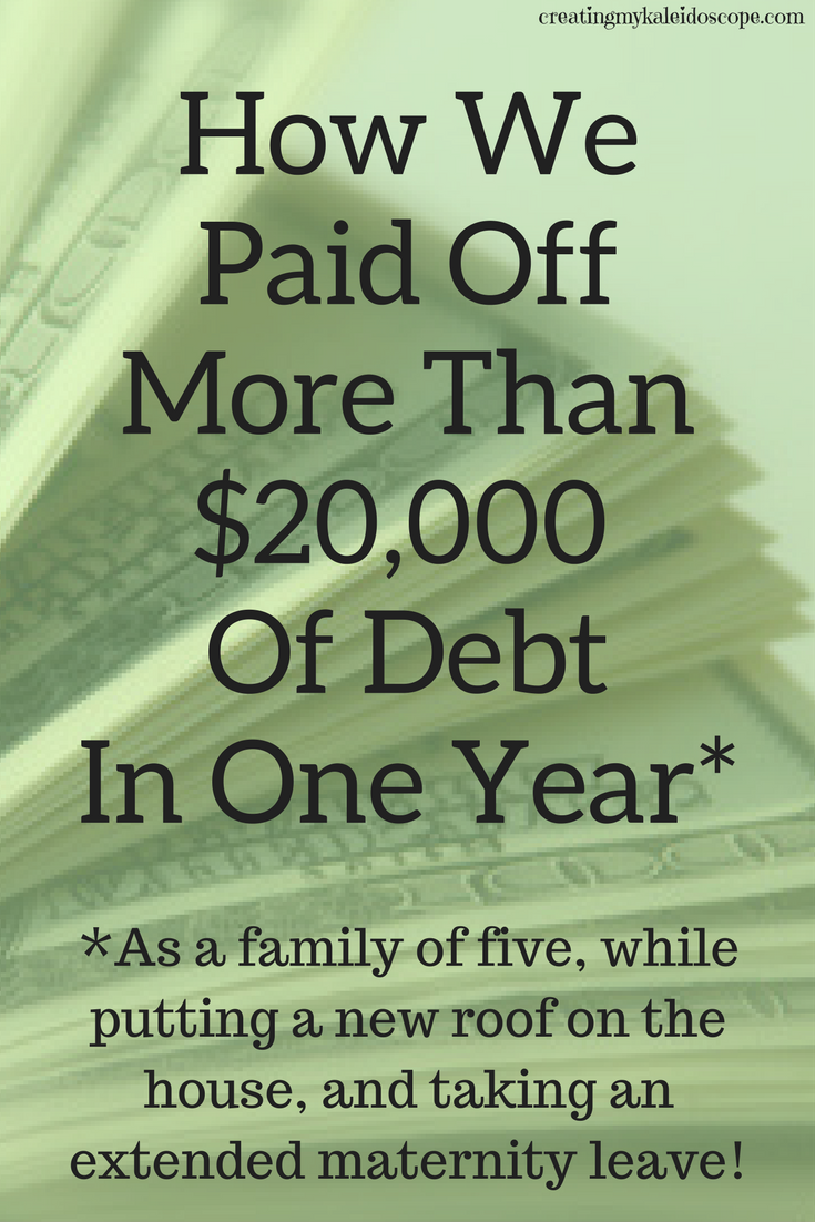 How We Paid More Than $20,000 Off In Debt In One Year