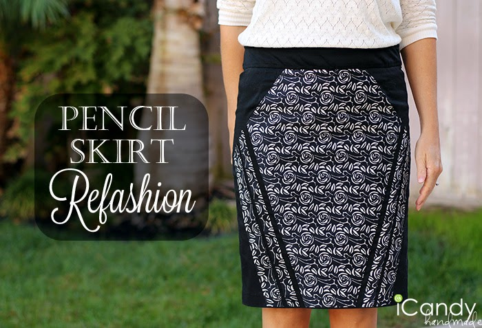 Pencil Skirt Refashion Main