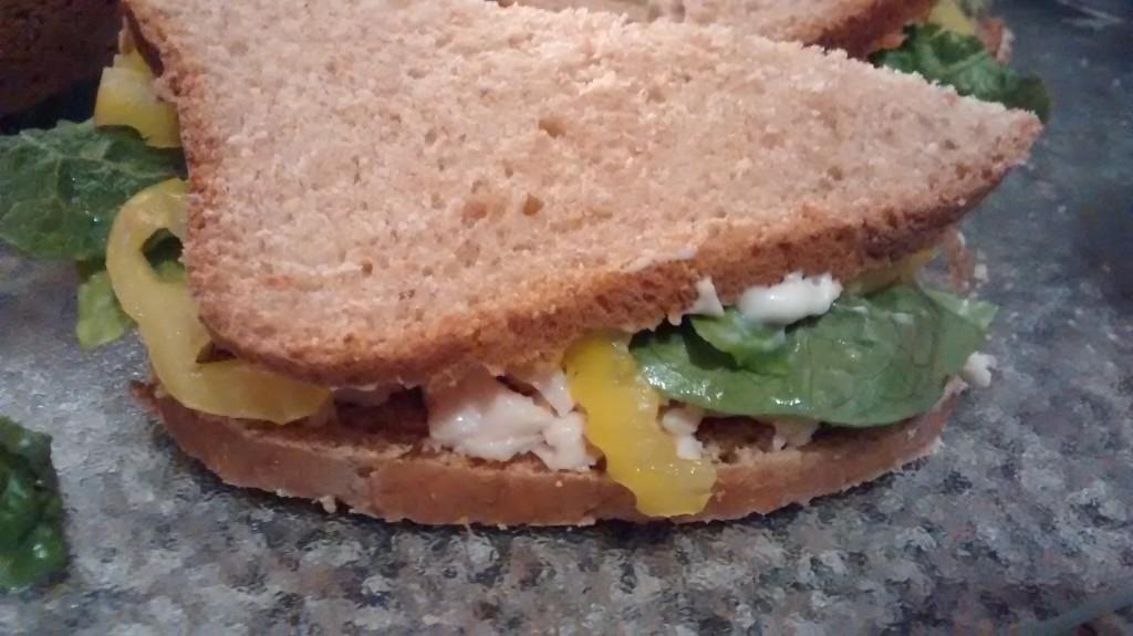 Italian Chicken Salad Sandwiches - Creating My Kaleidoscope