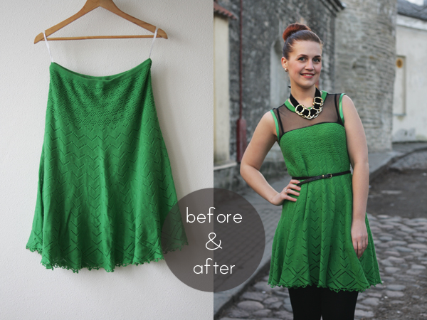 green-knit-dress-refashion-bampa1