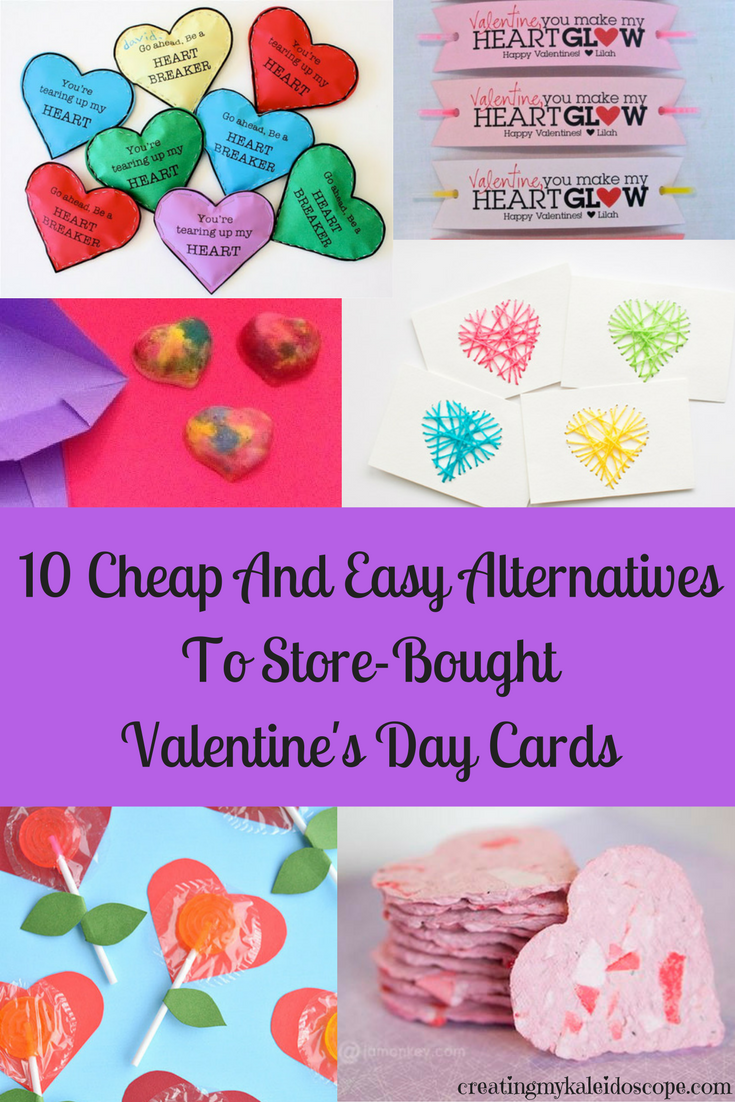 10 Cheap And Easy Alternatives To Store-Bought Valentine's Day Cards