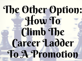 The Other Option: How To Climb The Career Ladder To A Promotion