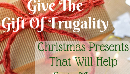 Give The Gift Of Frugality: Christmas Presents That Will Help Save Money