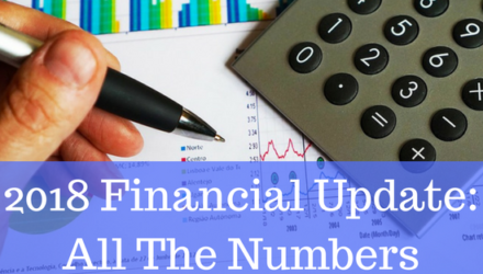 2018 Financial Update: All The Numbers